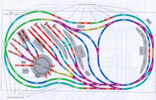 Hornby Track Plans Book Pictures to pin on Pinterest
